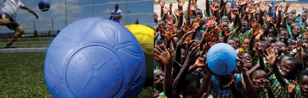 Innovating for social good with One World Futbol