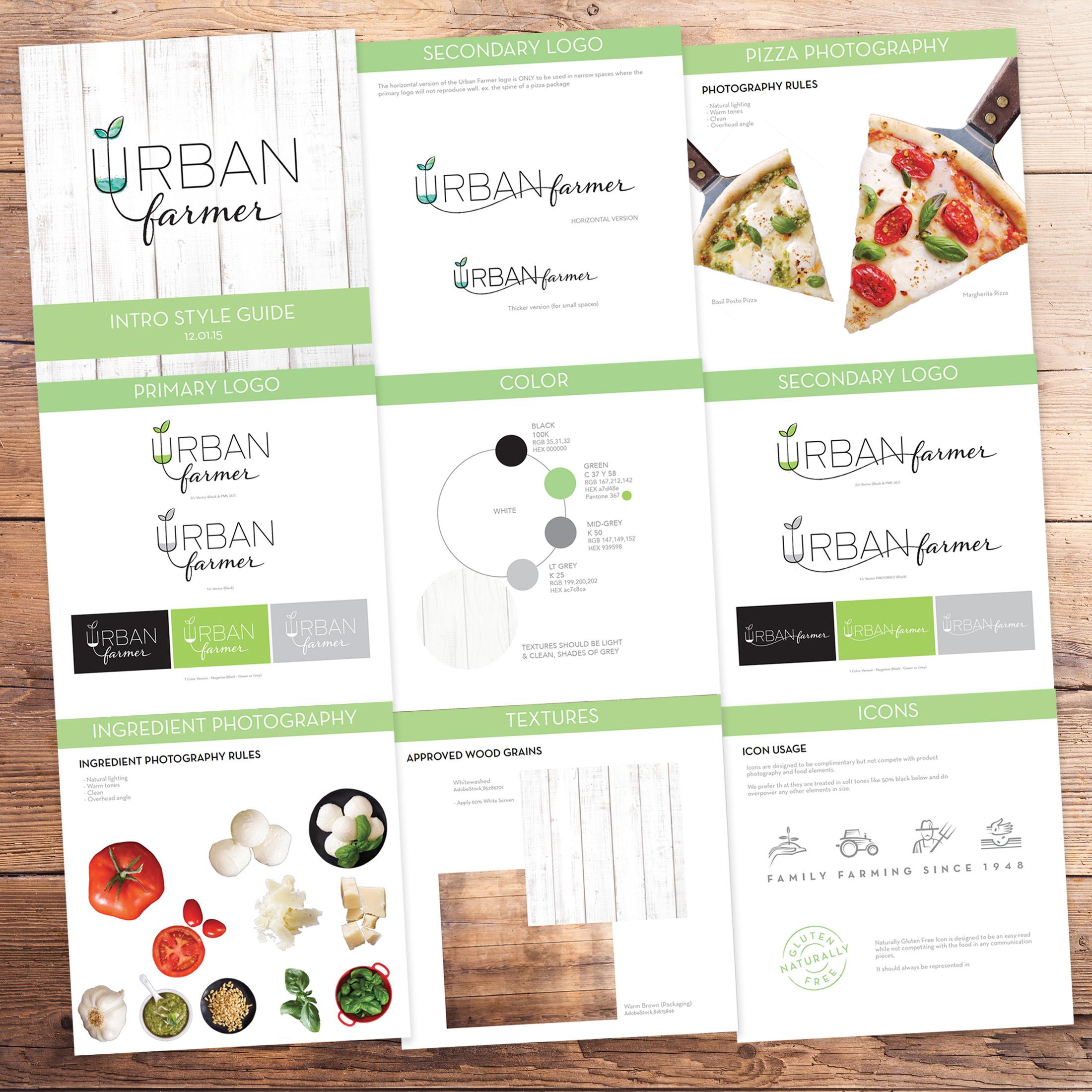 Urban Farmer Brand Development