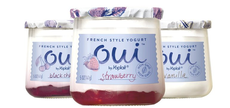 New packaging from Yoplait attracts attention