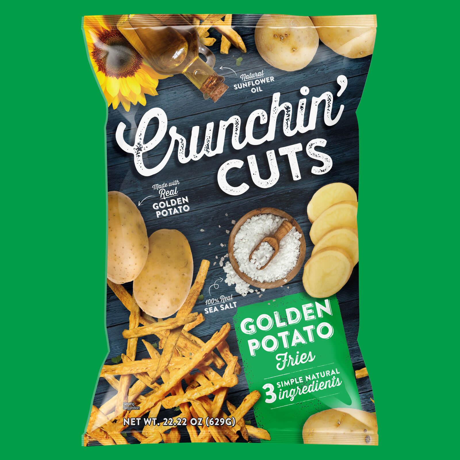 Crunchin Cuts - Golden Potato SKU