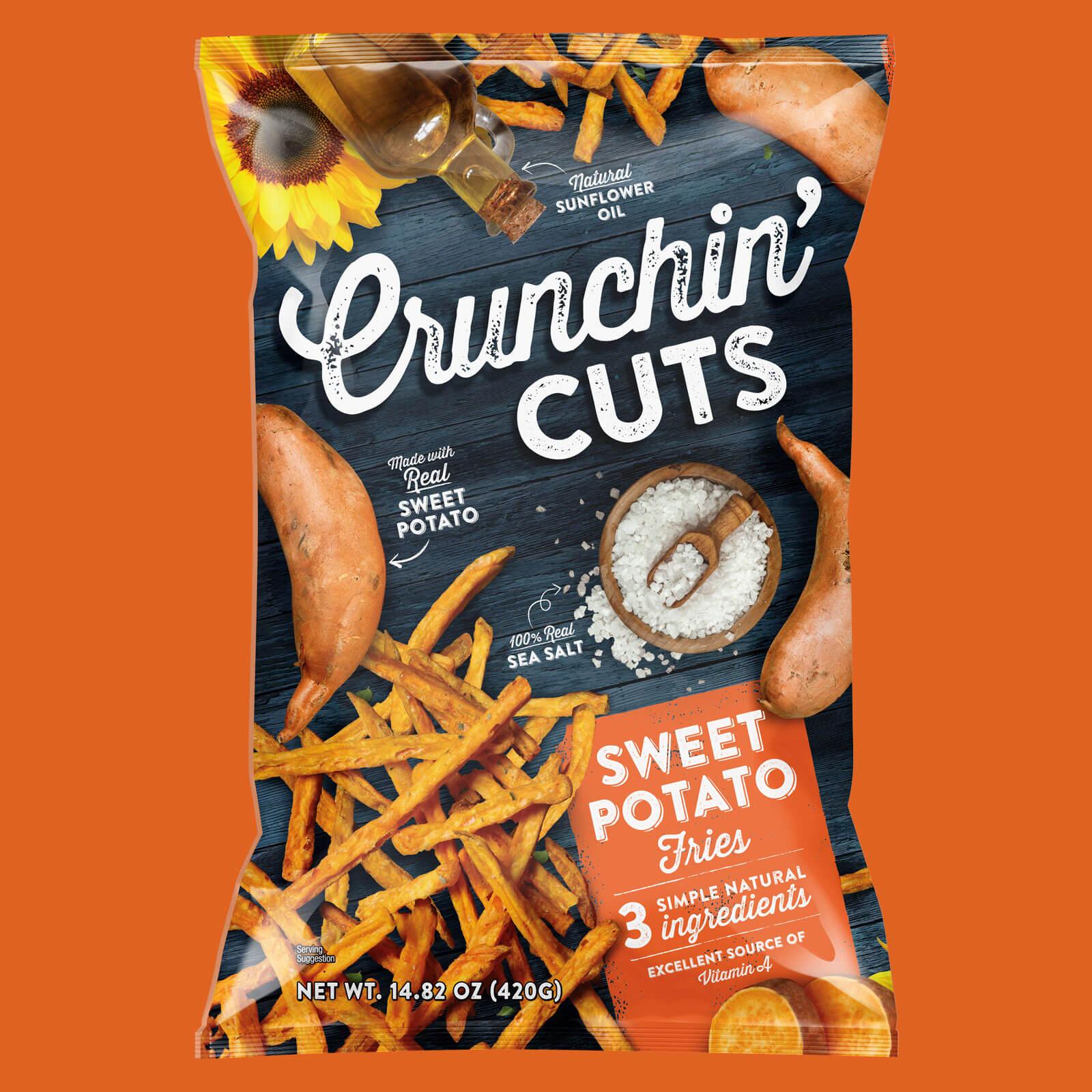 Crunchin Cuts - Sweet Potato