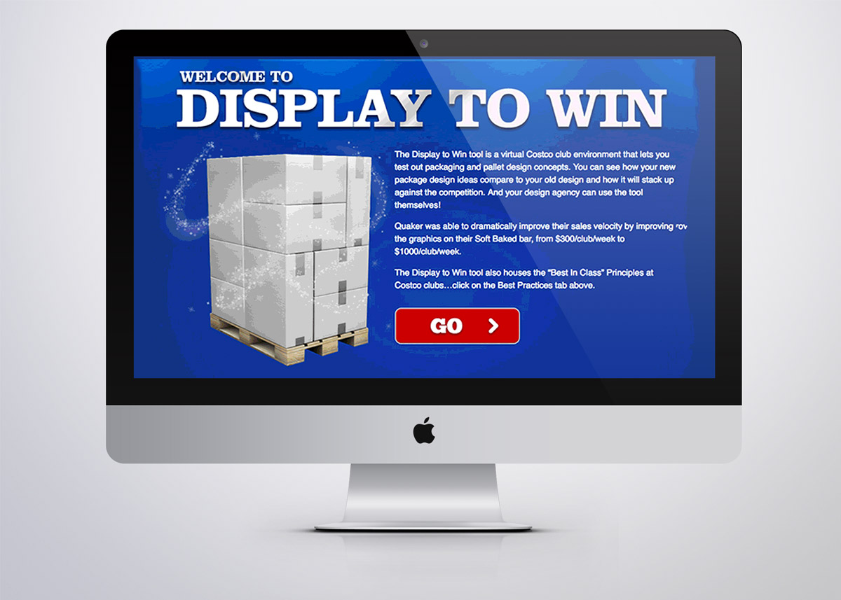 Pepsi Display To Win - Club Store Design