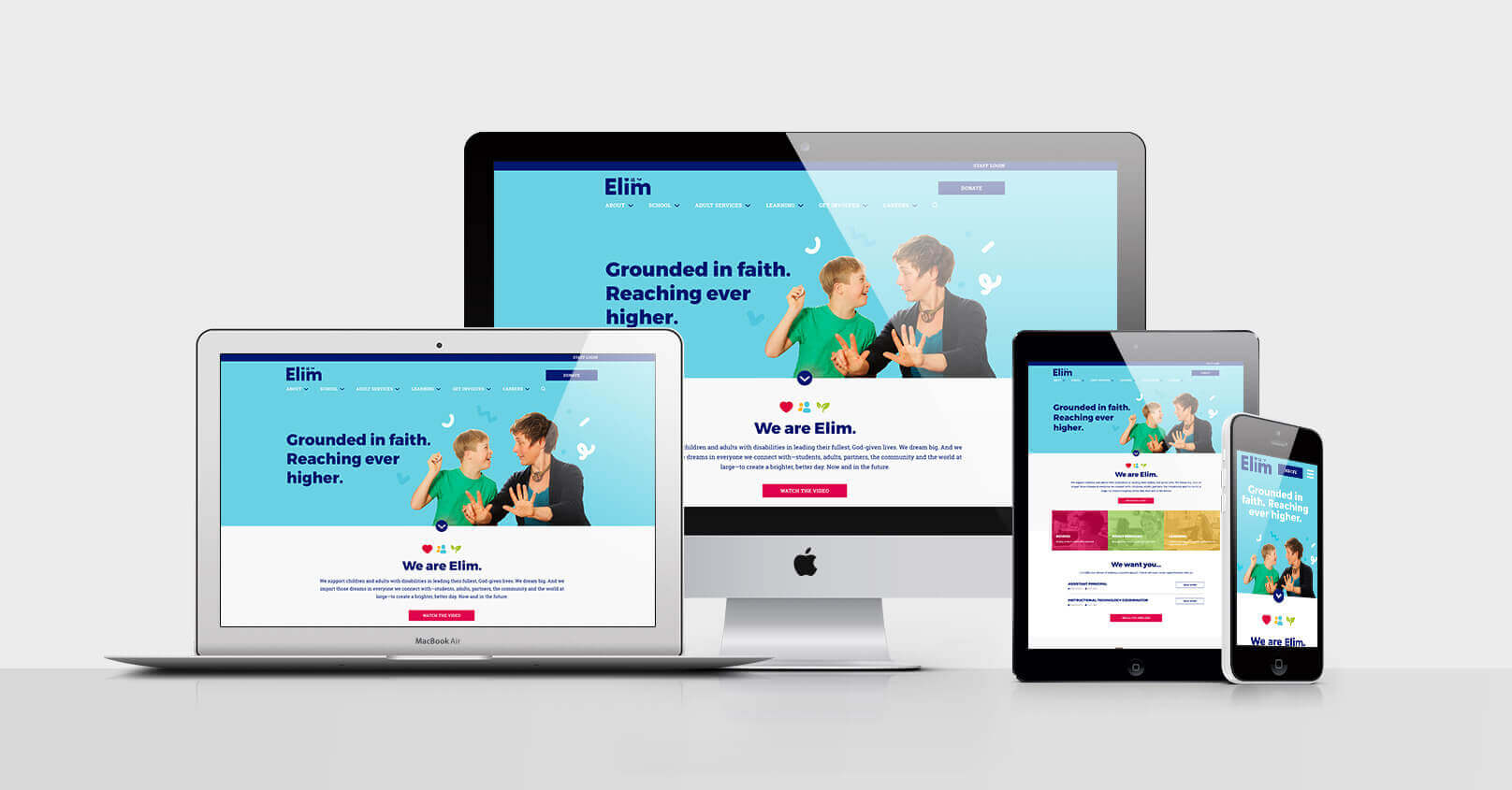 Website Development - Elim - School for People with Disabilities