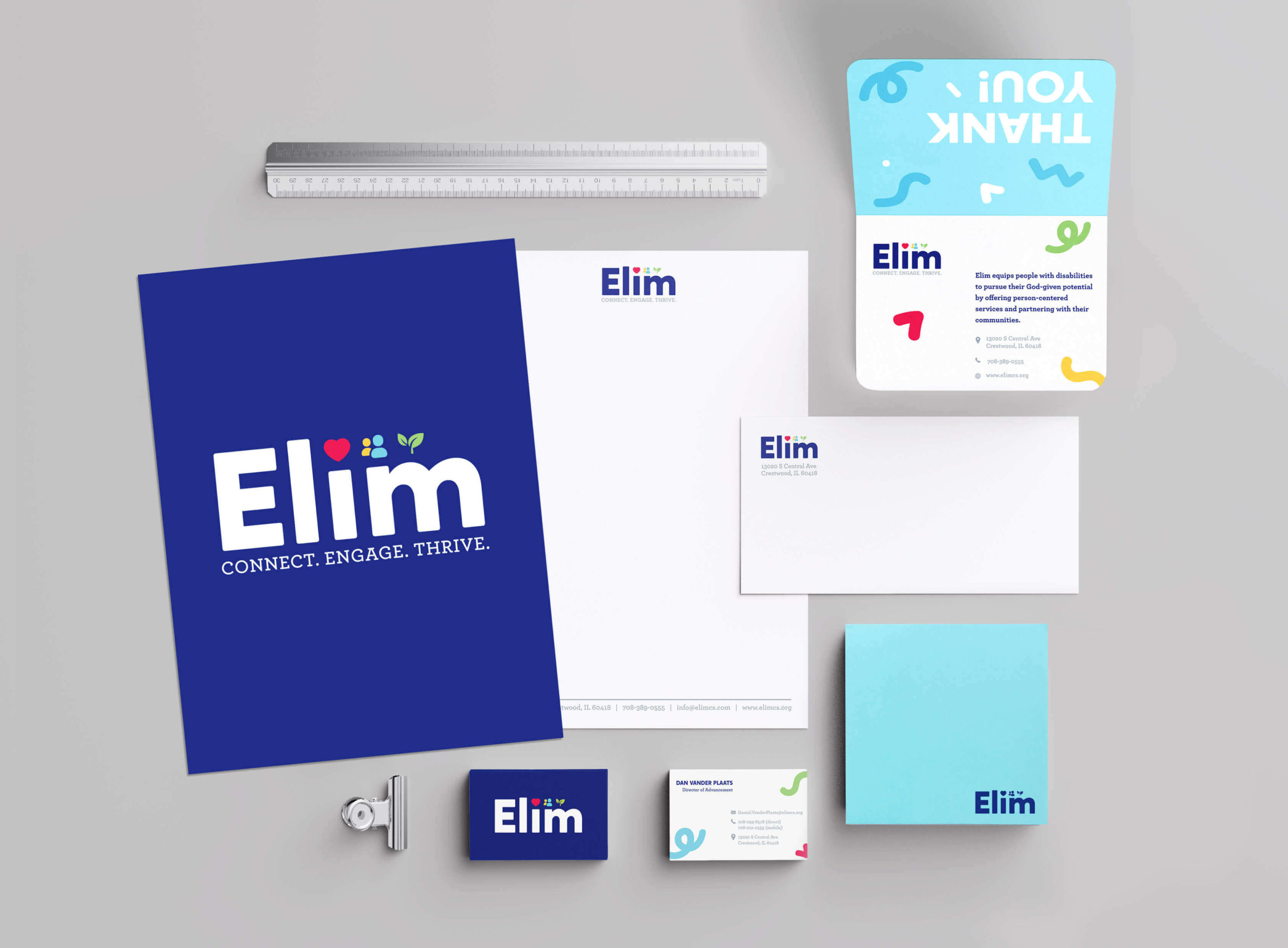 Elim - Brand Development - Christian Services Organization for People with Disabilities