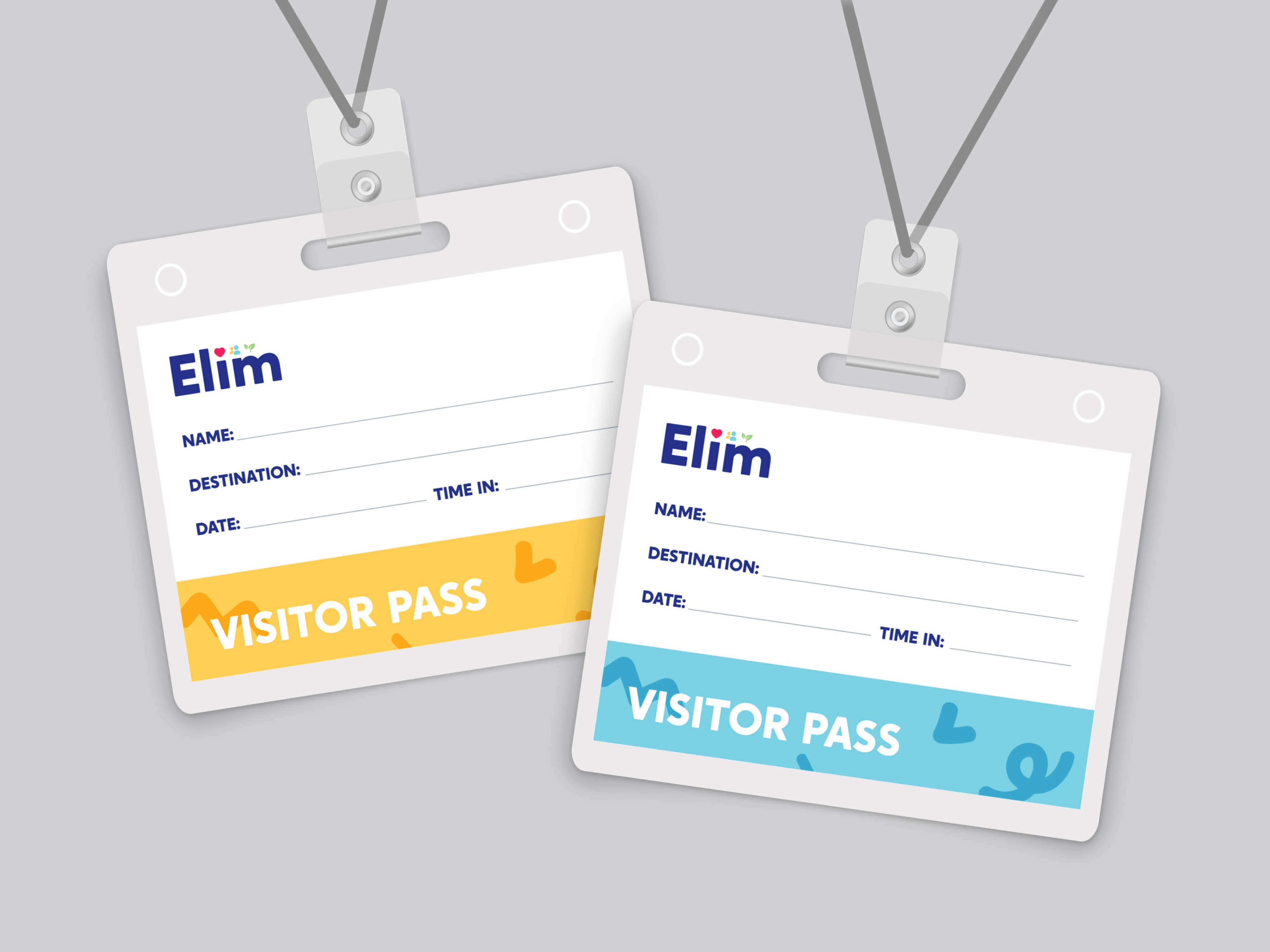 Elim Brand Design - Creating an energetic identity to show how people with disabilities can thrive.