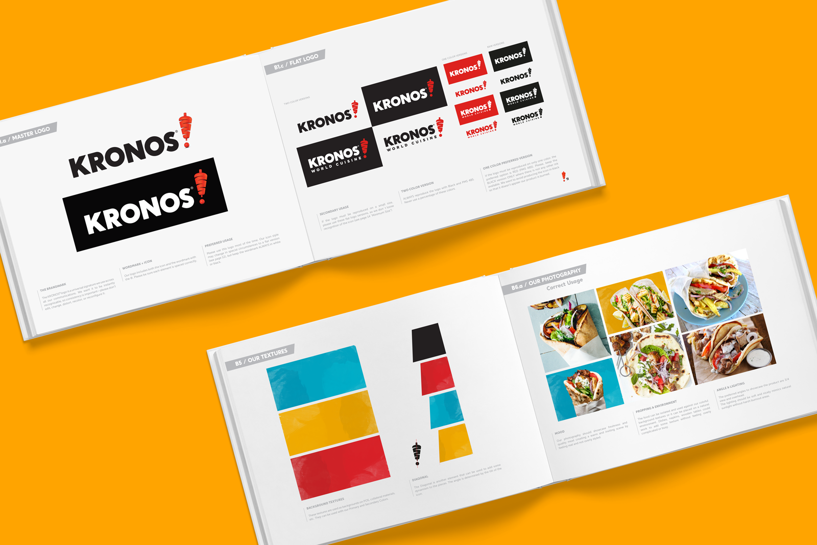 Defining the new brand style for Kronos