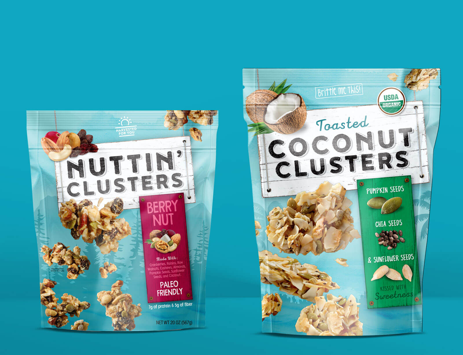 Nuttin' Clusters - Hello Delicious Brands