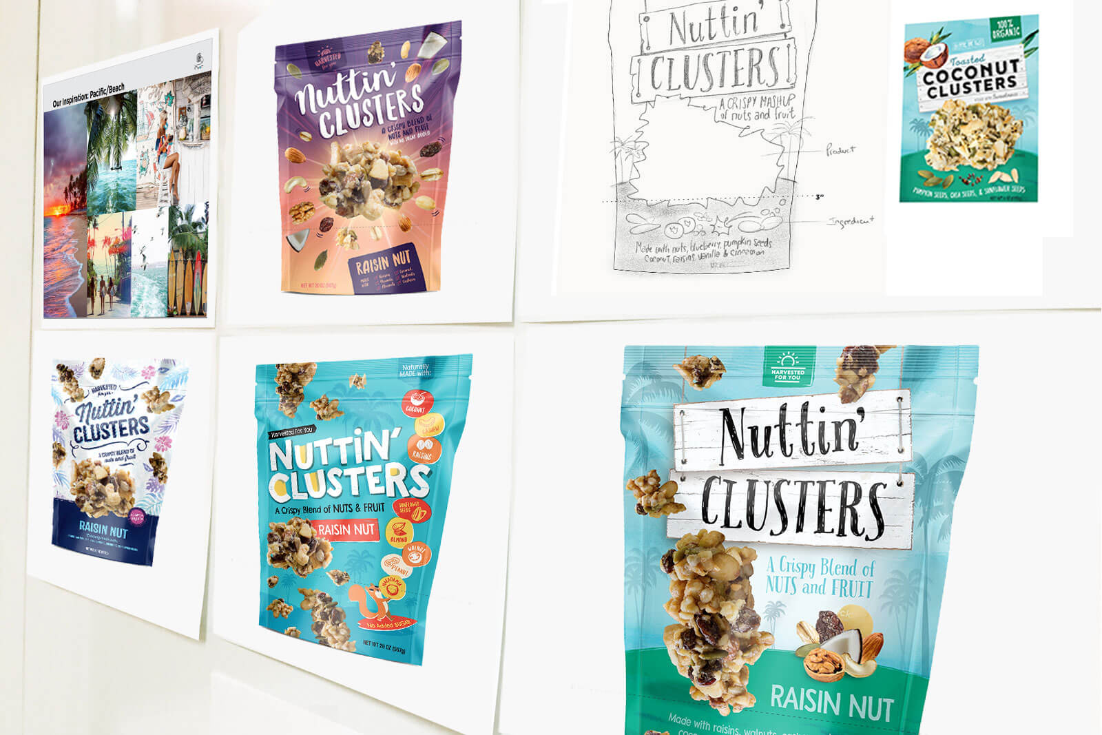 Nuttin Clusters Packaging Concepts
