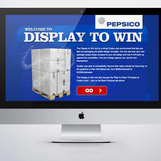 Pepsi Display To Win - Club Store Design