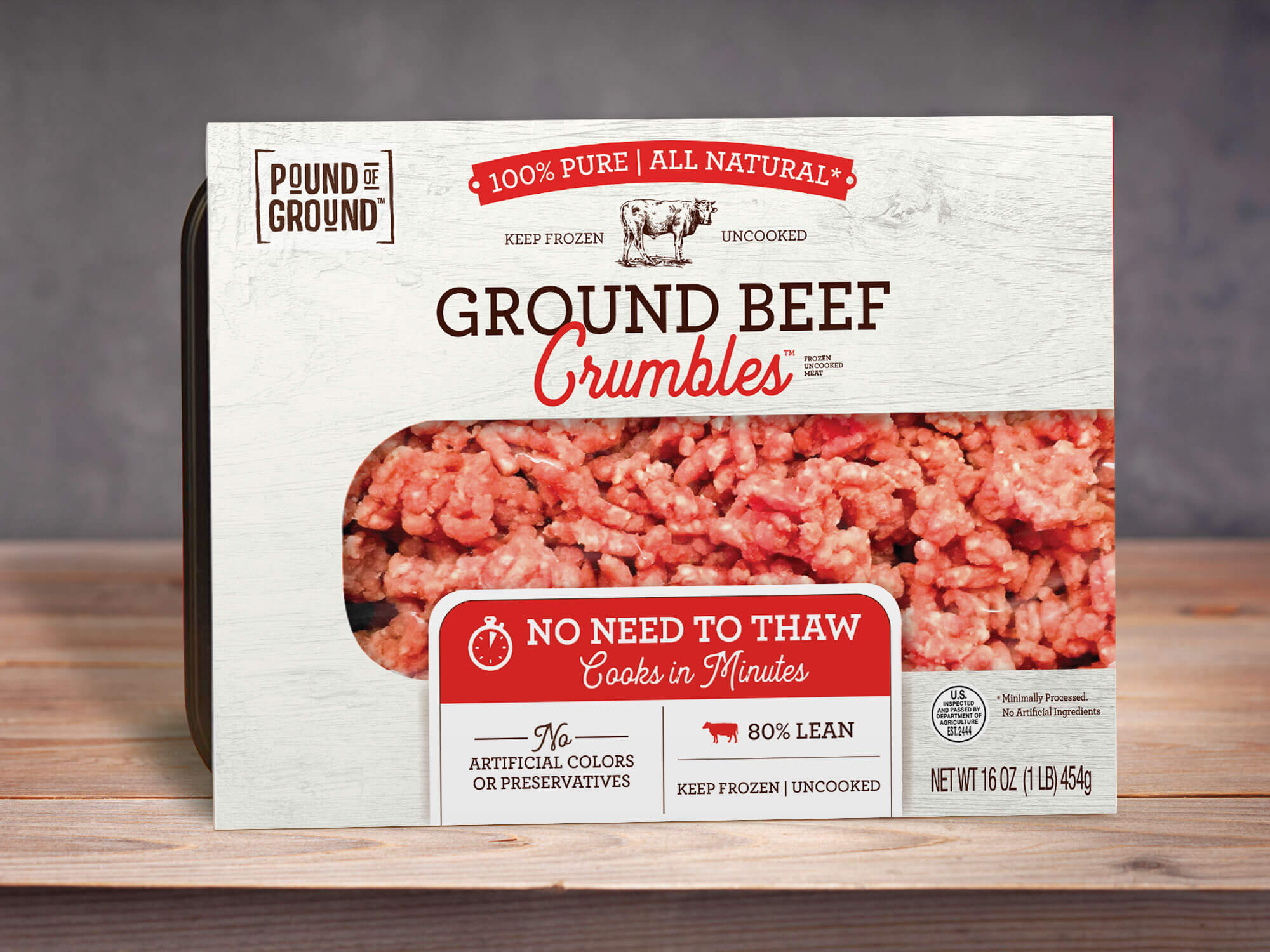 Final food packaging design emphasizes the ease of use for the consumer