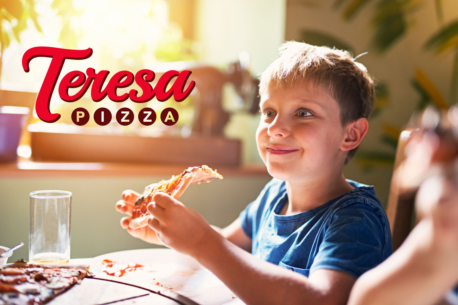 Bring home the happiness with Teresa Pizza -