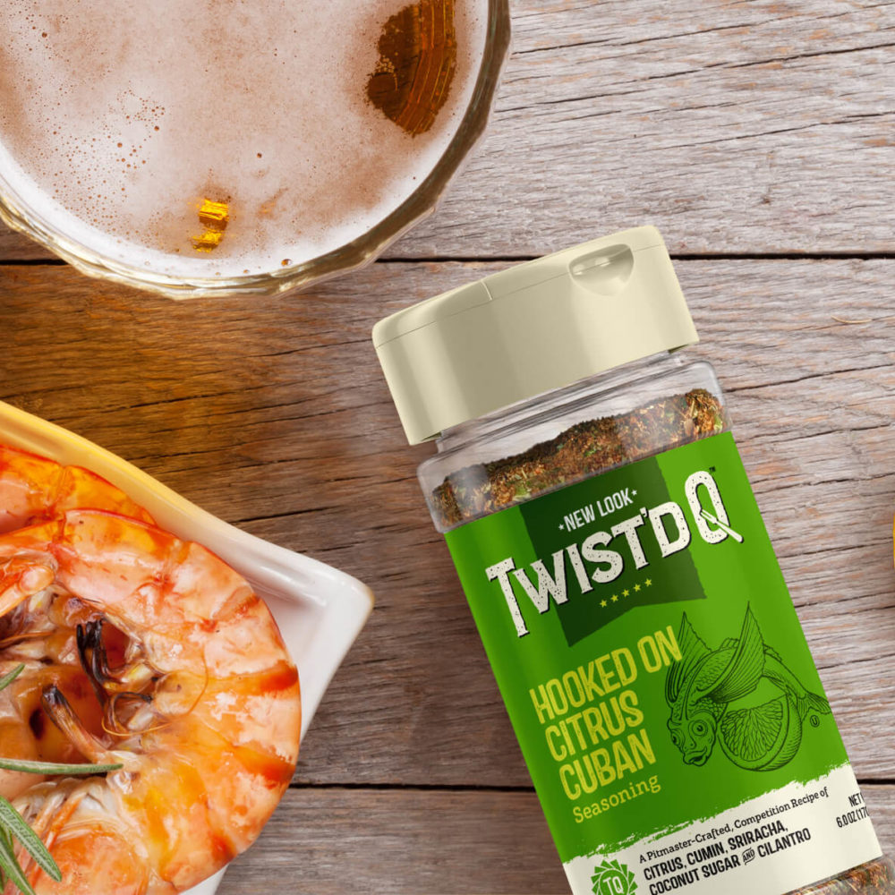 Twist'd Q BBQ - Brand packaging for seasonings and spices - Pivot Marketing Inc.
