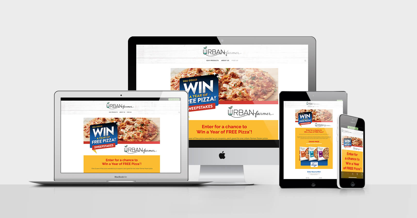 Win Free Pizza - CPG Food Promotion for Covid