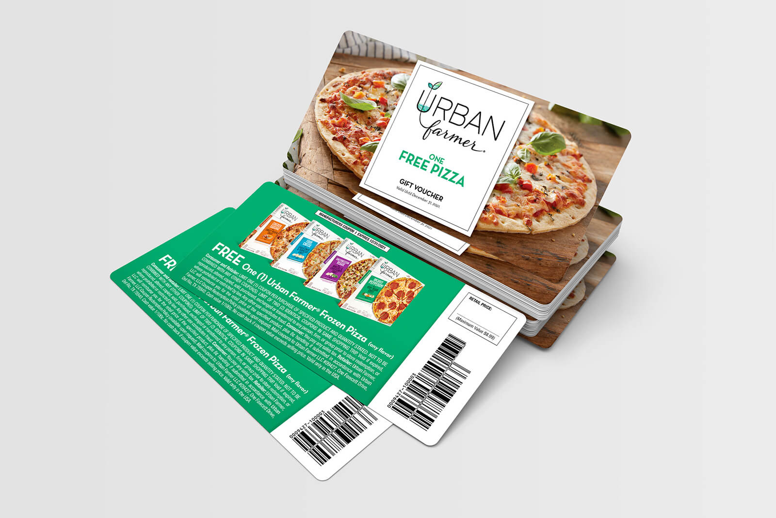 Frozen Pizza CPG Food Brand Promotional Sweepstakes